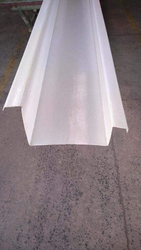 Calha de fibra de vidro preço