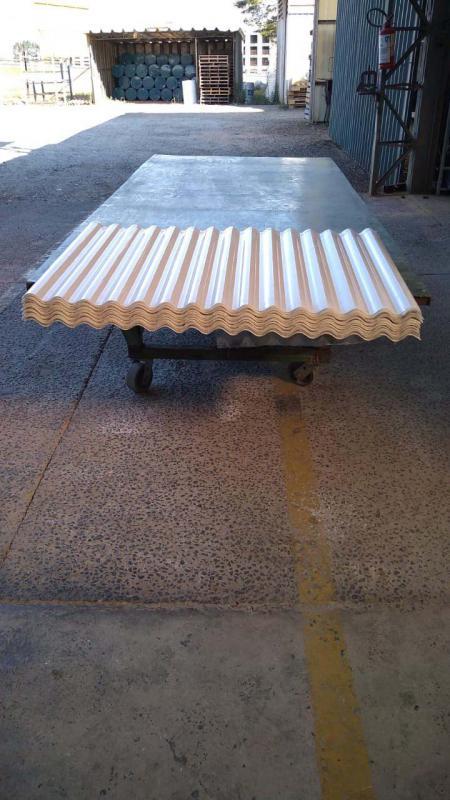 Fabrica de telhas translucidas