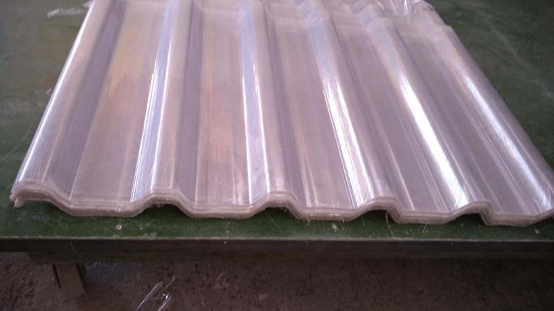 Telhas de fibra de vidro transparente preço
